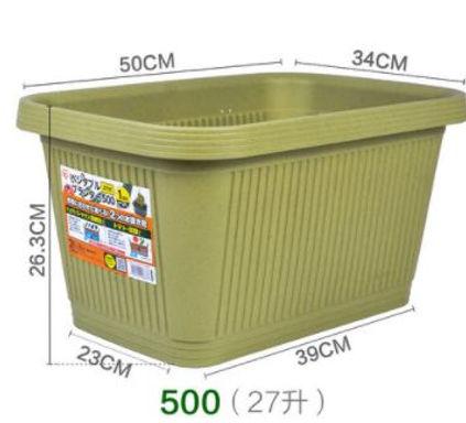 菜盆-綠色-500