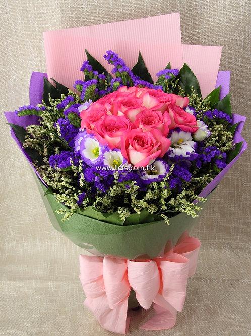 玫瑰-花束72