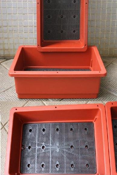 菜盆-PV109-台灣我家菜園深盆-磚紅色