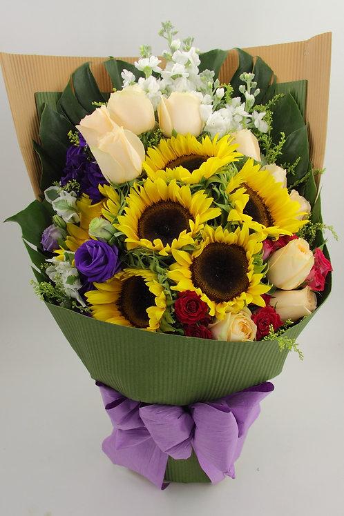 向日葵花束-8