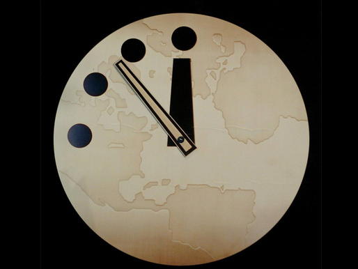 100 Seconds to Midnight – The Doomsday Clock
