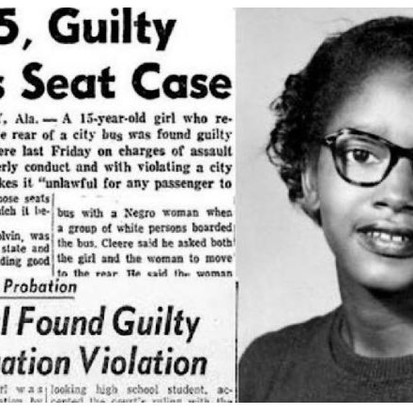 Claudette Colvin: The 15-Year-Old Overlooked through History