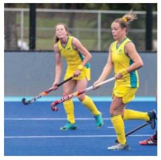 Hockey Superwoman; Ms Greville