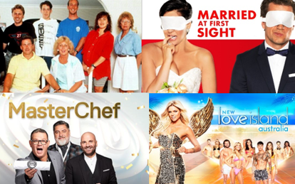 History of Australian Reality TV Shows