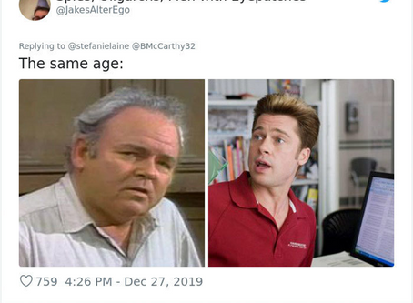 Did people age faster in the past?