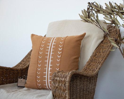 Rust Mud Cloth Scatter Cushion
