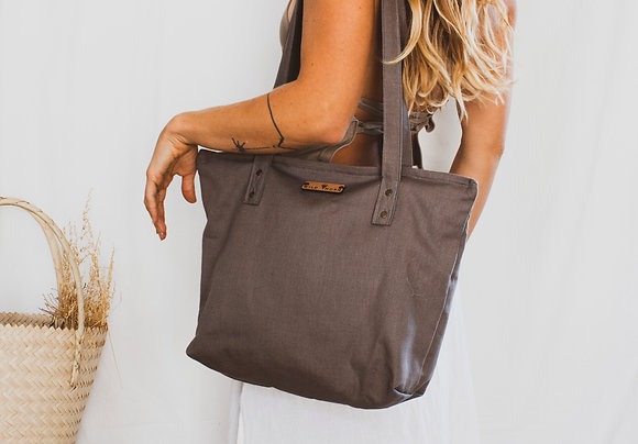 Wild Hemp Bag // fatigue