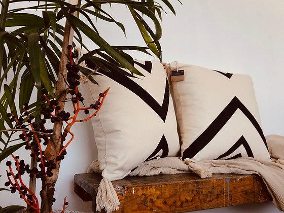 Tribe & Tassel Scatter Cushion
