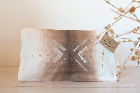 Tribal Rust Ombre  | Essential Pouch