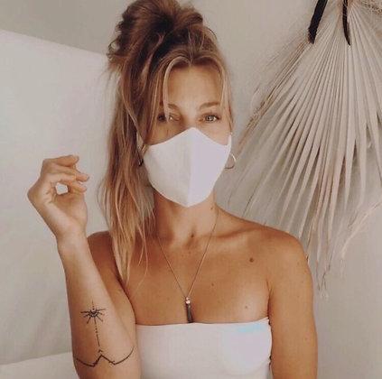 Washable Face Mask :: hemp & organic cotton linen