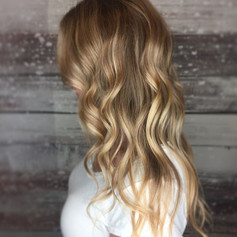 Added a few highlights & lowlights to brighten up this blonde.jpg