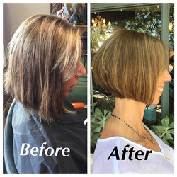 A new do for this beauty 💛 💛_💛_💛_💛_💛_#keepingitfun #newcut #newcolor #haircut #hairmakeover #b