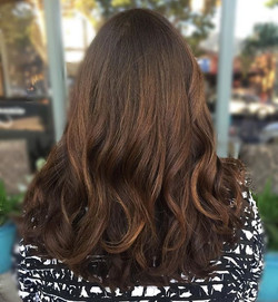 How would you describe this beautiful #brunette color_ _So far we've heard #caramelswirl #chestnut #