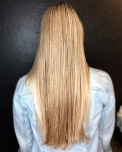 Beautiful Blonde for Miss Cara 😍 Hair by Letty _#hair #hairstyle #instahair #socialenvy #hairstyles