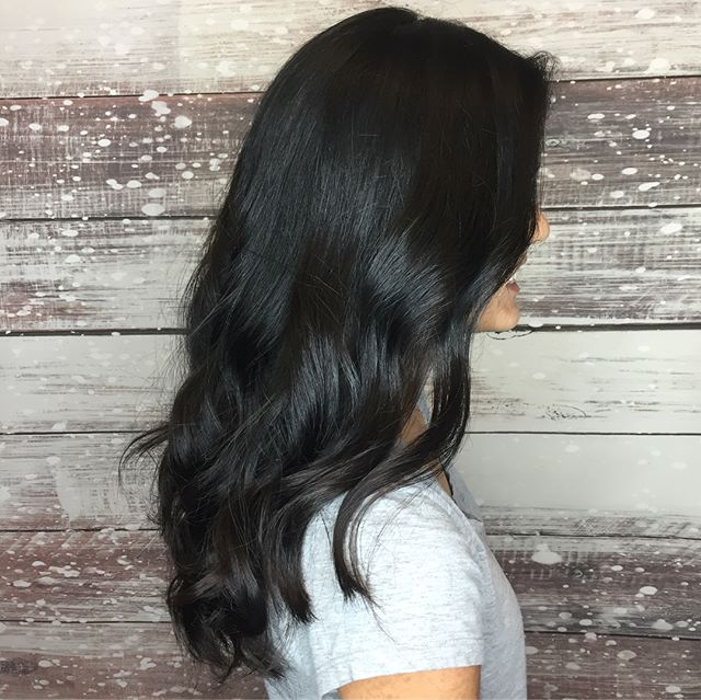 Pretty Shiny Hair 💛💛💛 A new cut for this cutie!  Schedule your new do (408) 395-8120