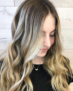 Beautiful hair by our new stylist Crysta