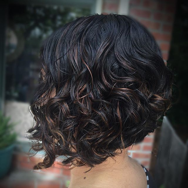 Show off your #curls with a cute new #haircut 💞#welovehair #losgatoshairstylist #losgatossalon