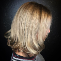 Cut and color refresh for this pretty thang 💛💛💛 #reserveyourspot (408) 395-8120__#hair #hairstyle