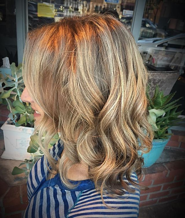 Summer Hair ☀️ 😎☀️ #highlights #redken #blondeidol #blondehighlights #summerhair #summerstyle #hair