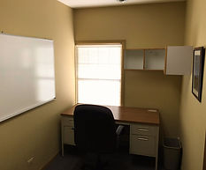Furnished bronze office suite 208