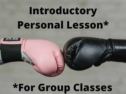 Introductory Personal Lesson