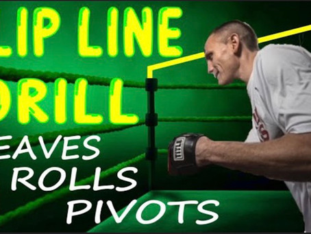 Slip Line Drill to Improve your Head Movement snd Footwork