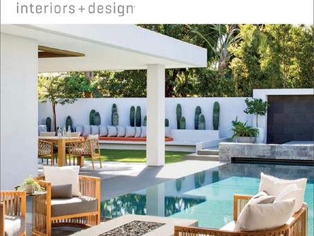 Kasia's Art Featured in LUXE Interiors + Design Magazine