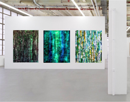 Abstract Art Gallery Exhibition