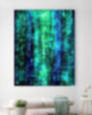 Los Angeles Contemporary Abstract Paintings For Sale | Buy Original Oversized Artwork By Artist