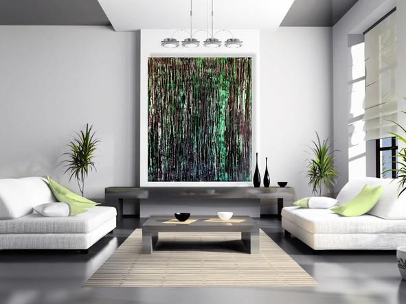 "Acrylic painting on canvas 60""x48"""