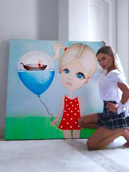 Surreal artwork los angeles