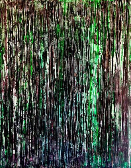 "Original Acrylic Painting On Canvas 60""x48"""
