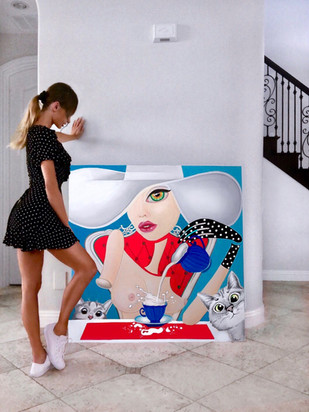 Contempoary modern art for sale los angeles