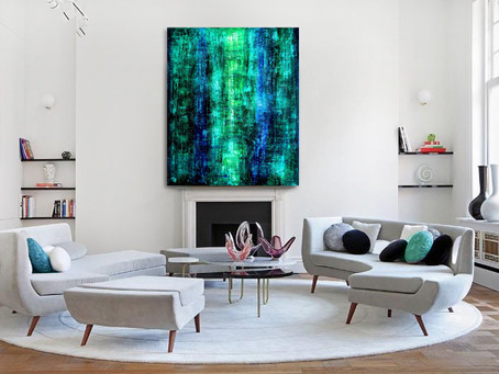Buying A Large Abstract Painting For Your Living Room