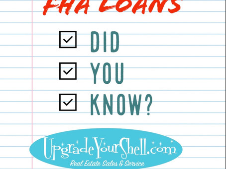Did You Know? (FHA Guidelines)