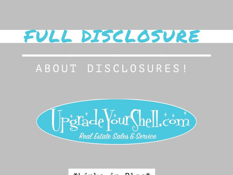 Full Disclosure About Disclosures!