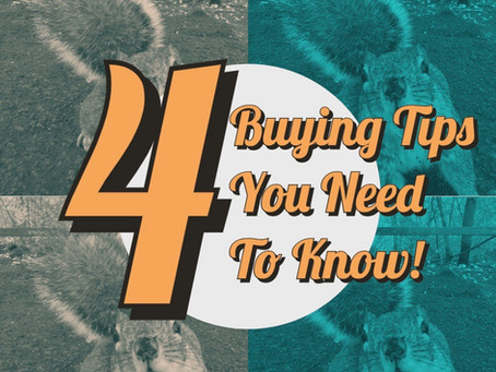 Four Buying Tips You Need To Know!