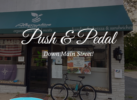 Pedal and Push Down Main Street!