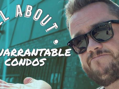All About Unwarrantable Condos!