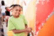 Mur de peinture d'enfants