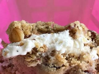 Cookie mit Eiscremefüllung
