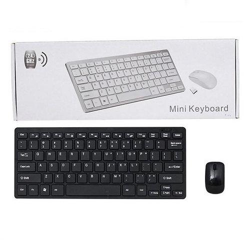 Teclado Inalámbrico Marca Targett Ref. K-03 Combo + Mouse