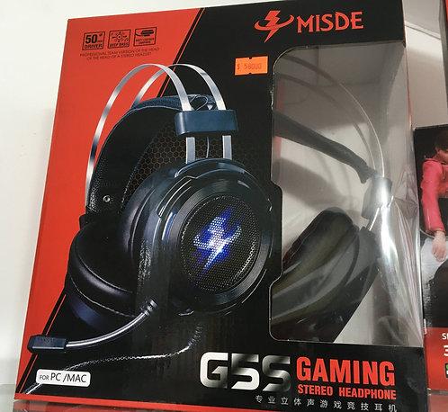 Diadema Gamer Ref. GSS MISDE US Con Luz Y Micrófono