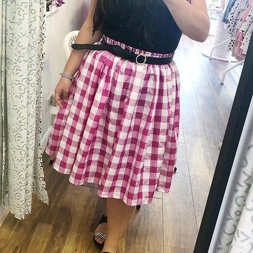 Mama and mini picnic skirt
