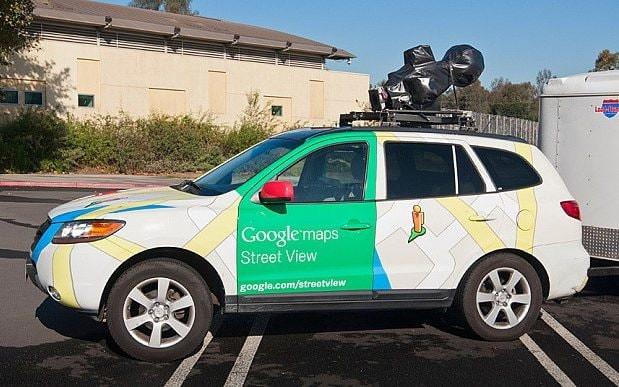 Google street view car- Panoramic photographer  - Ashesh Shah in Mumbai