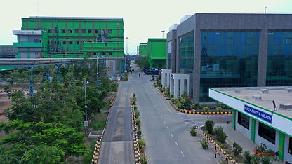 drone photography of mundra pl