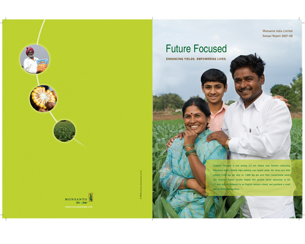 Example of Good use of a photo in Annual Report