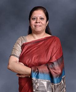 Corporate head shot of Mrs. Falguni Nair, Director, J M Financials.