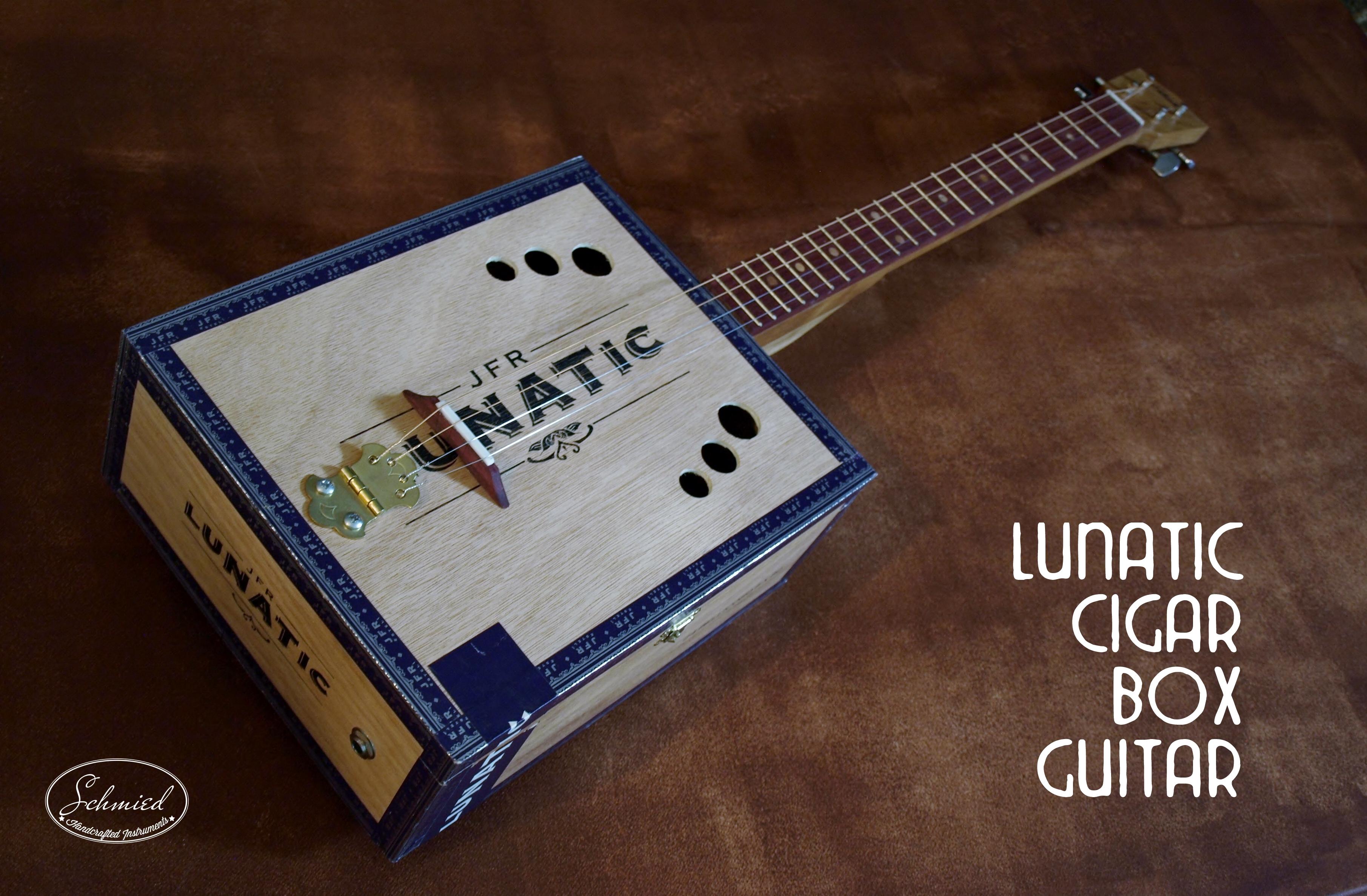 Cigar Box Guitar Images