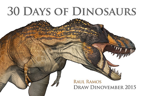 30 Days of Dinosaurs With Personalized Drawing